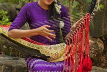 Musikinstrumente aus aller Welt