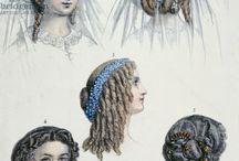 1850 hår damer