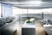 Dream Home: the kitchen and pantry / Ideas for kitchen and pantry design, appliances, layout, etc.