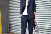 Work style / Looks simples para o trabalho.  / by Barbara Roza