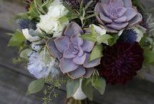 Lavender, Plum and Green Wedding
