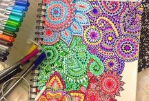 colourful drawings