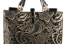 Beautiful handbags / Beautiful design, textile, treatments and finishes