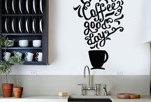 카페벽면그라피티