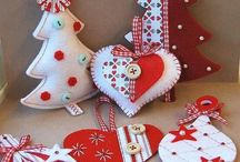 Boże Narodzenie-ozdoby / Christmas-ornamentation