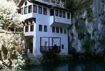 Lake summer houses