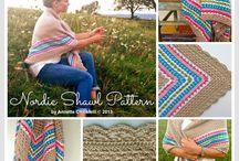 Crochet shawl / by Jannie van Huizen