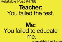TO ALL MY TEACHERS!!