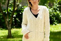 COTTON Sweaters Cardigans Handmade by EXTRAVAGANTZA