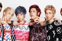 24K (ノ>▽<。)ノ / 24K consists of (Seokjun), Cory, Kisu, Sungoh, Jeunguk, Byungho, and Daeil. They debuted in September of 2012. / by You Got No Jams <( ̄︶ ̄)>
