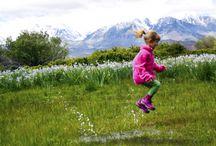 Kids in the eastern Sierra