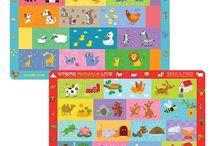 Children's Educational Placemats