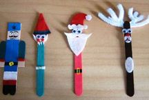 """OSCN Christmas Crafts / PDF instruction sheet for every craft. Click """"visit"""" to access"""