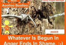 Aoolloo Boolloo Anger