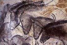 Cave paintings, horses
