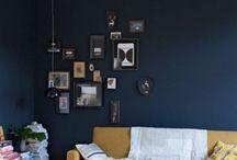 Tafel plank + muur
