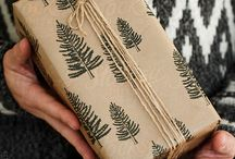 { gift wrapping }   beautifully natural, plastic free, DIY, earth friendly, low waste + recyclable
