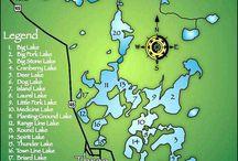 Three Lakes WI Chain Of Lakes