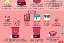 receitas doces