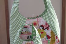 """My Dollie and Me HOBO Bag set / This collection features """"Lanie"""" a Swoon pattern"""