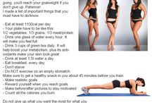 Working on my fitness / by Allison Moss