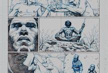 Dibujantes de comics - lapices