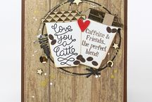 Coffee Talk / Get inspired by these DIY craft projects created with our Top Dog Dies Coffee die set.