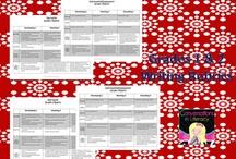 Rubrics/ Lesson Organisation