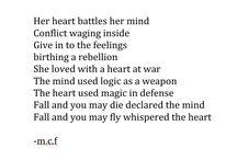 m.c.f / poetry