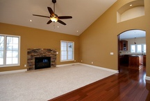 Wayne Homes Great Rooms / Browse beautiful photos of Great Rooms we've built and customized for our homeowners and models!