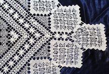 Rececsipke kiállítás / Filet lace exhibition