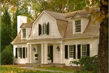 Home Exteriors / by Jennifer Crotty Holmes - Dear Lillie