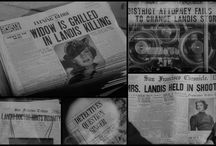 classic movie newspaper montages