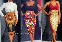 African clothing/materials