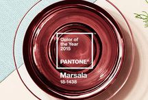 Color of the Year 2015 Marsala