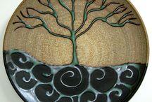 talíř strom