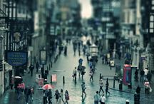tilt shift, / tilt shift / by sun`s pinterest 스카의 소소한 취미공간