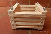 pot kayu
