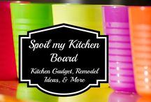 Spoil my Kitchen Board / Everything for the kitchen - kitchen remodel ideas, kitchen gadgets, & other neat ideas for your kitchen.  / by Susan Bewley