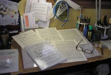 Calligraphy / Copperplate and another styles of calligraphy