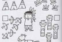 INDIS I VAQUERS / Recursos, activitats i informació sobre els indis i els vaquers. / by Aina