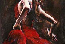 dibujos flamenco