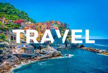 Travels/ Trips/ Places / Wszystko co związane z podróżami.