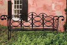 Great Garden Benches / A garden bench is a place to relax and to create a focal point in the garden.