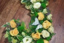 Letter Tributes / The Bee's Flower Shop, Perth - 01738 441337 - www.thebeesflowershop.co.uk