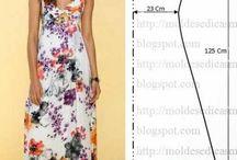 Patrón de vestido de verano