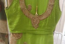 Hand embroidery  and exclusive sarees / Sarees with stitched blouses with hand embroidery