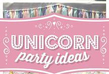 Einhorn-Party
