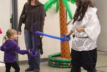 Dazzle Event-Pirate Party / A event I planned for a preschool's 50th anniversary. / by Michelle Burnham
