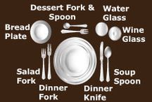 Dining Etiquette / by Lycoming College IMS